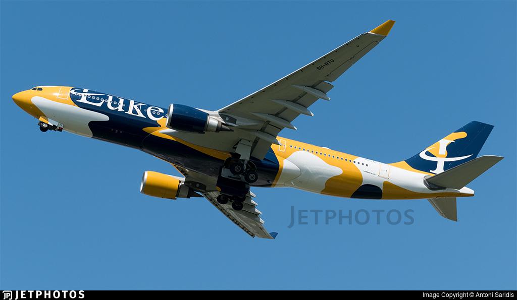 9H-RTU - Airbus A330-203 - Luke Air