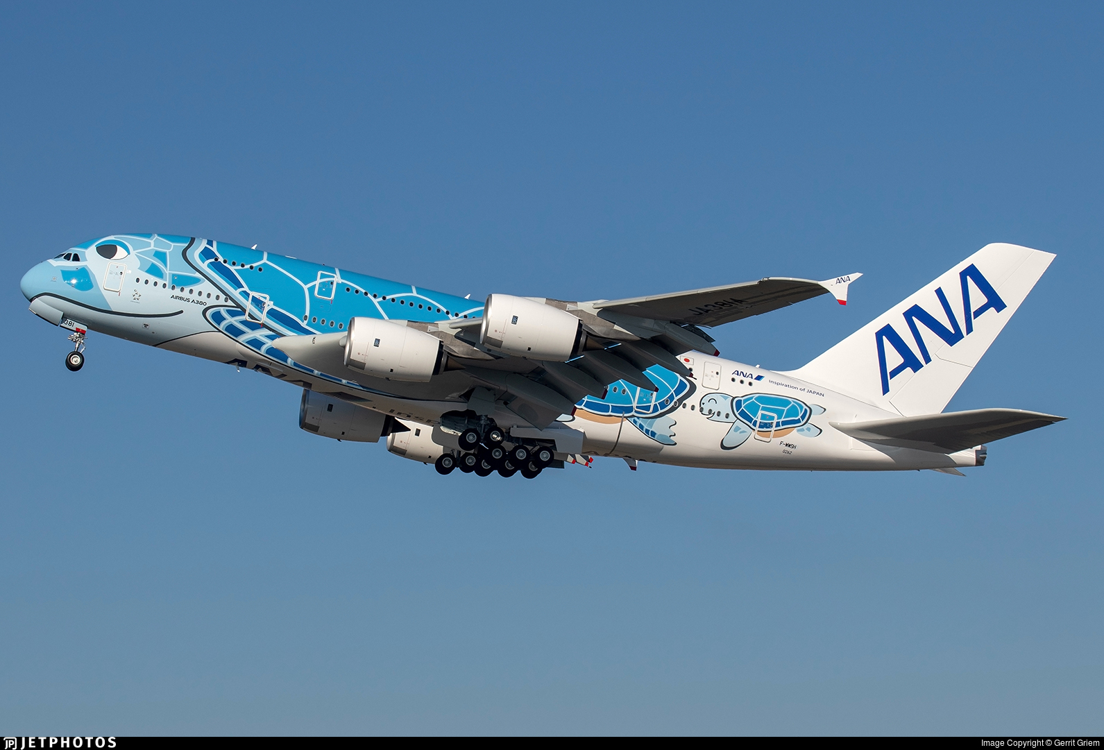F-WWSH - Airbus A380-841 - All Nippon Airways (ANA)