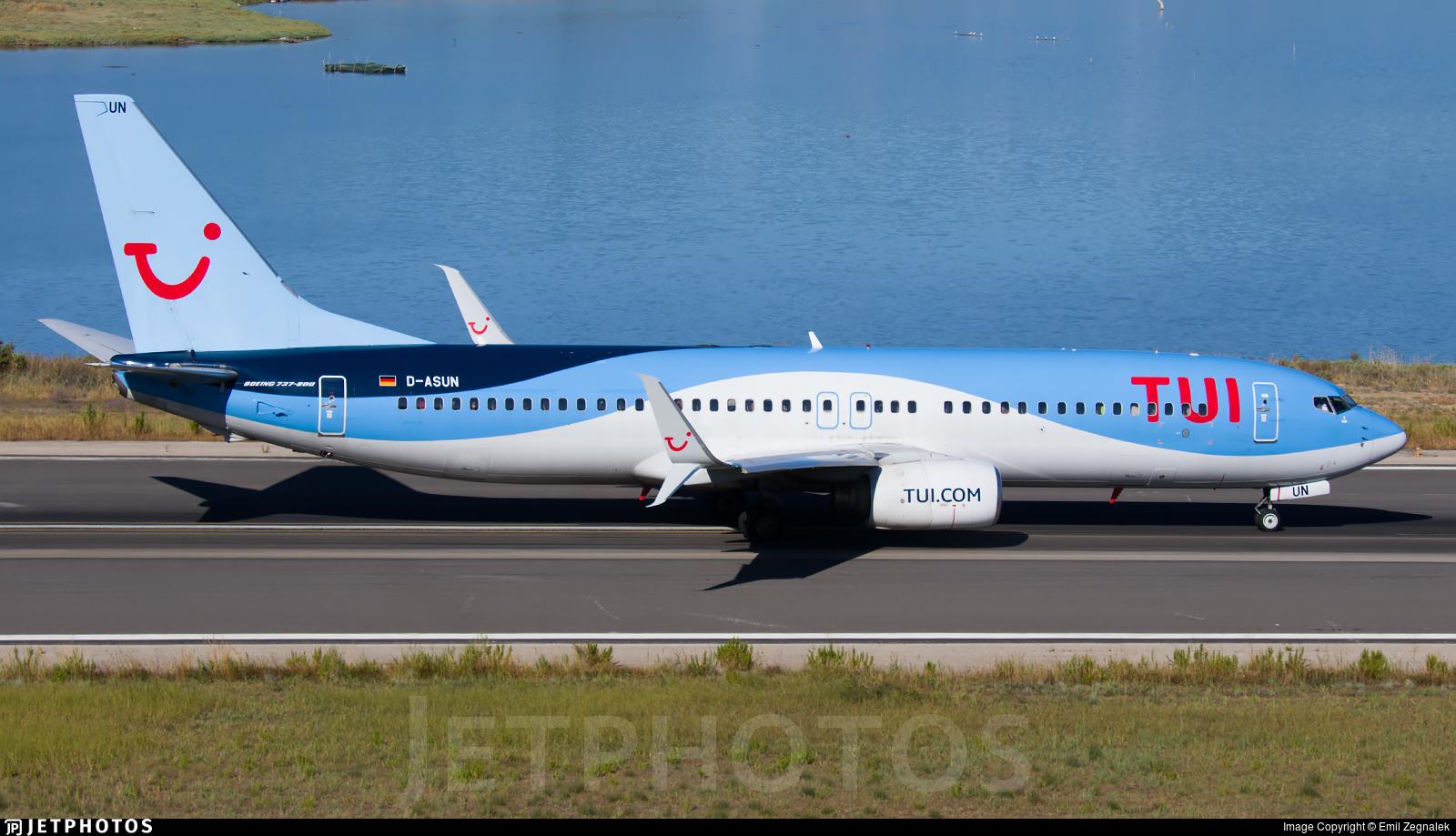 D-ASUN - Boeing 737-8BK - TUI