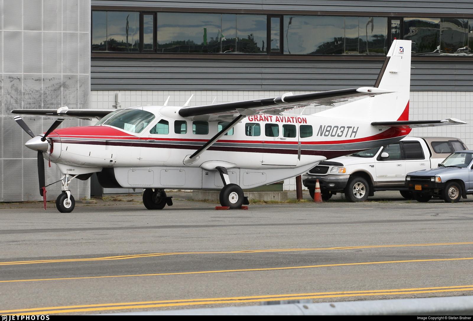 N803TH - Cessna 208B Super Cargomaster - Grant Aviation