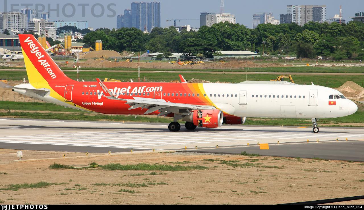 VN-A685 - Airbus A321-211 - VietJet Air