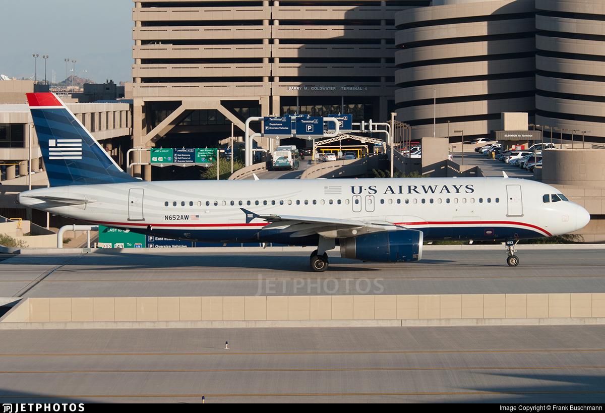 N652AW - Airbus A320-232 - US Airways