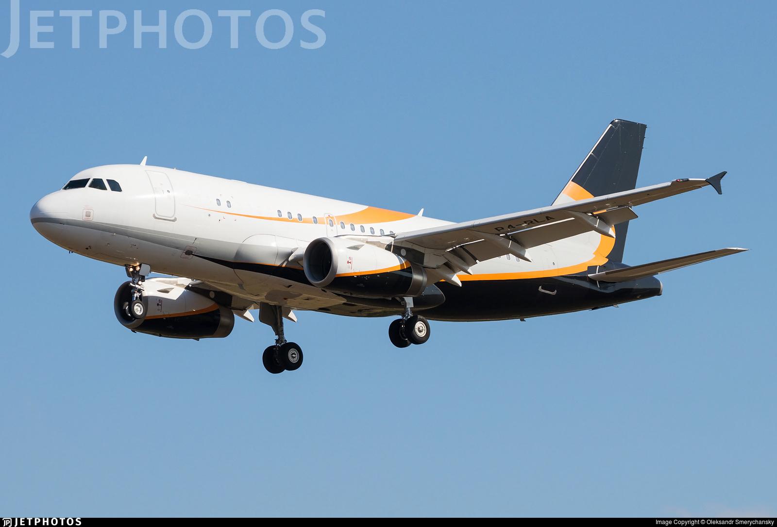 P4-RLA - Airbus A319-133X(CJ) - Private