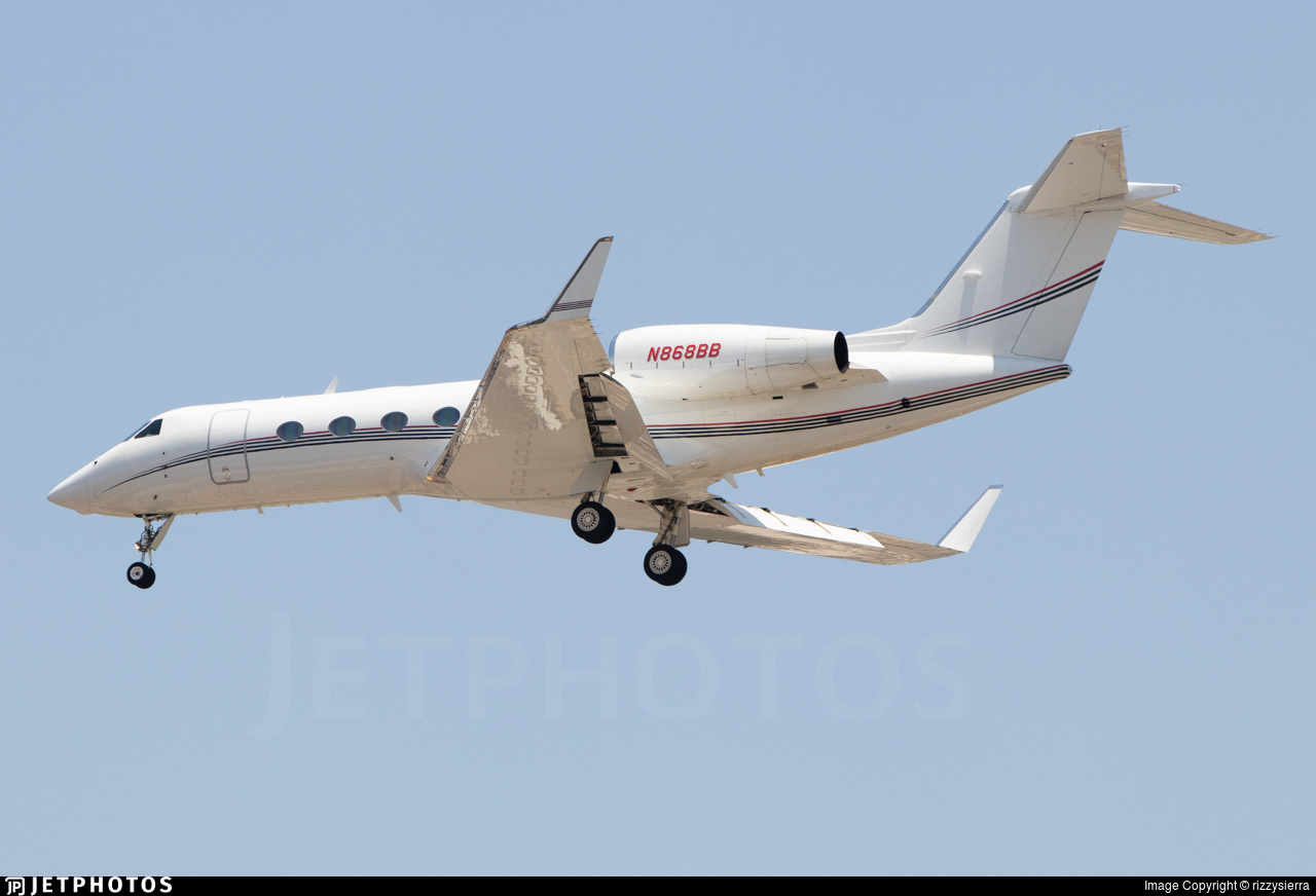 N868BB - Gulfstream G450 - Private