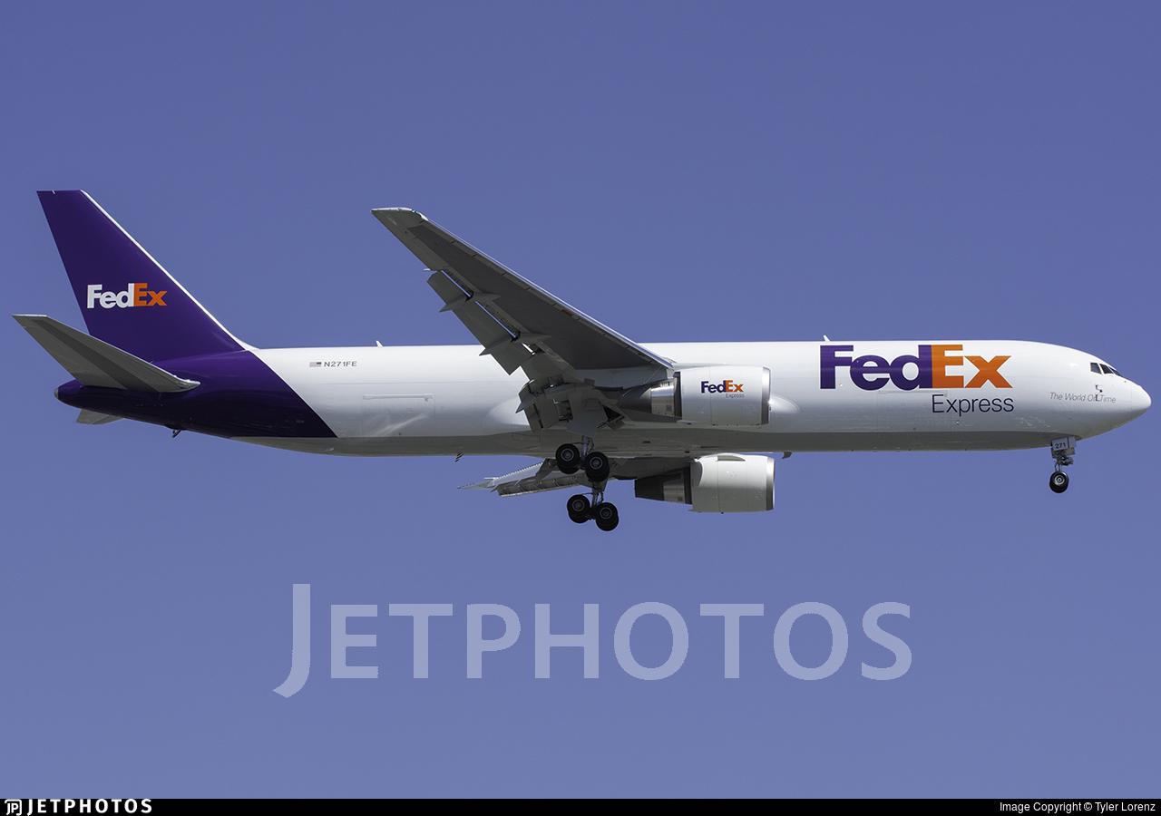 N271FE - Boeing 767-3S2F(ER) - FedEx