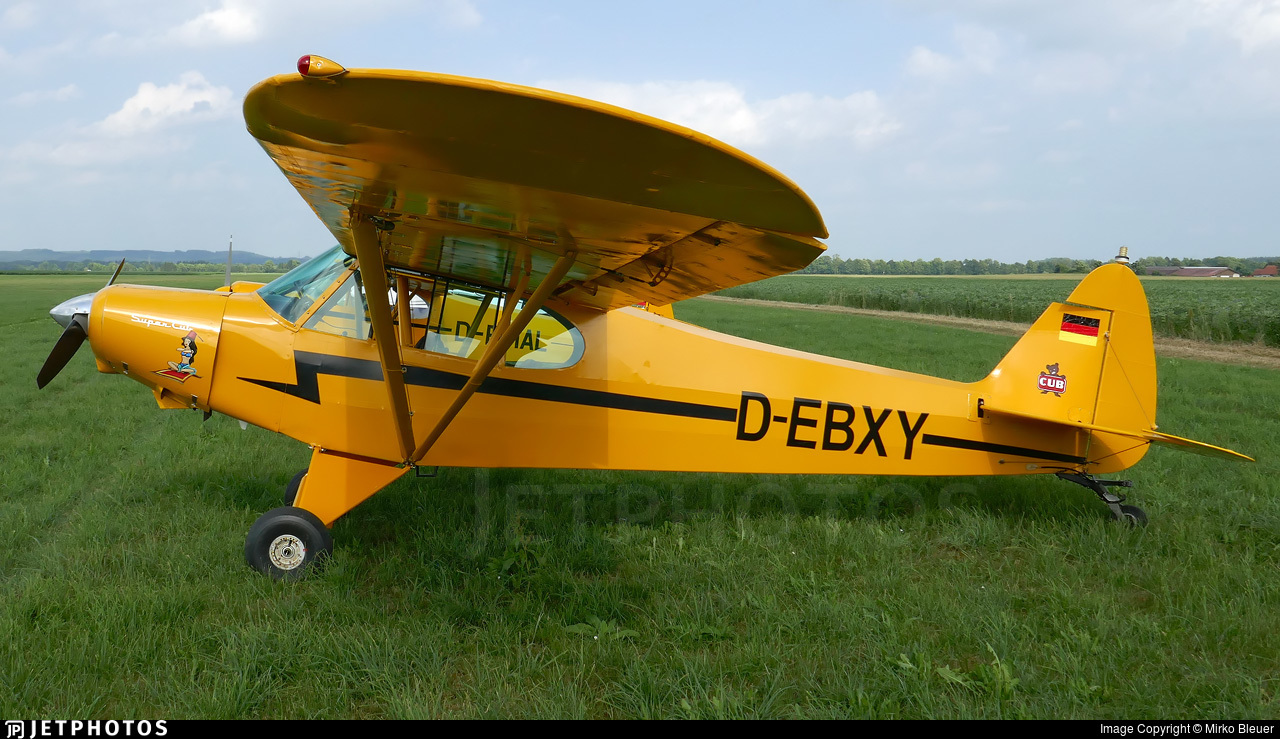 D-EBXY - Piper PA-18-150 Super Cub - Private