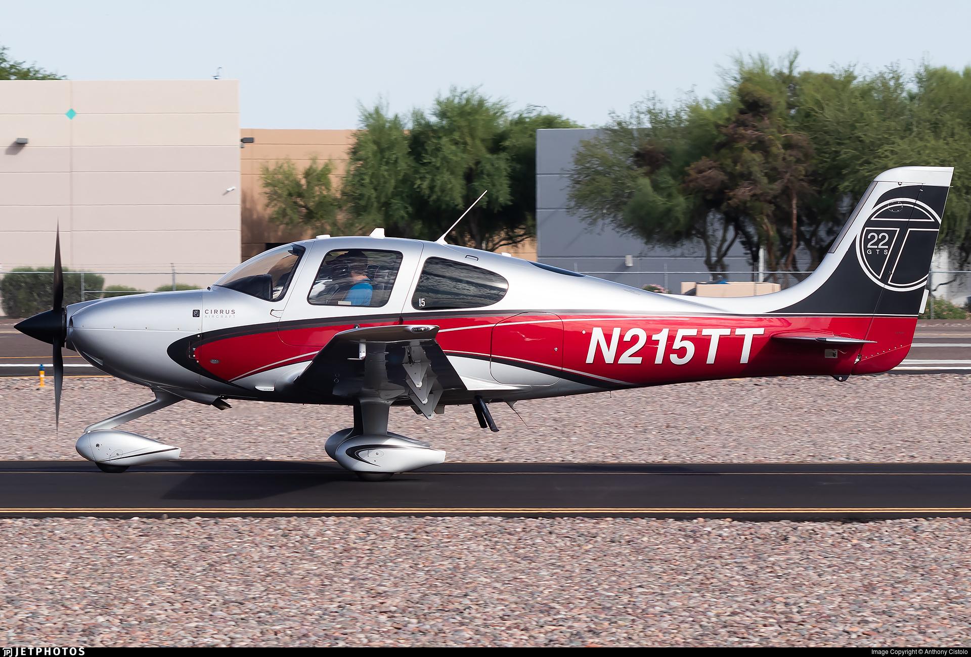N215TT - Cirrus SR22T-GTS - Private