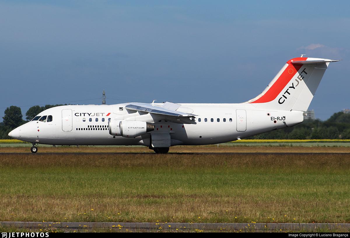 EI-RJO - British Aerospace Avro RJ85 - CityJet