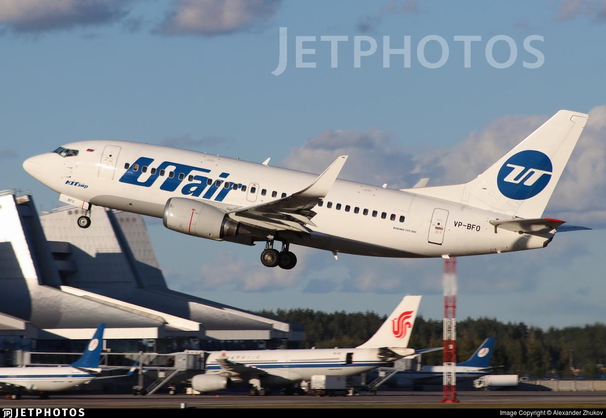 VP-BFO - Boeing 737-524 - UTair Aviation