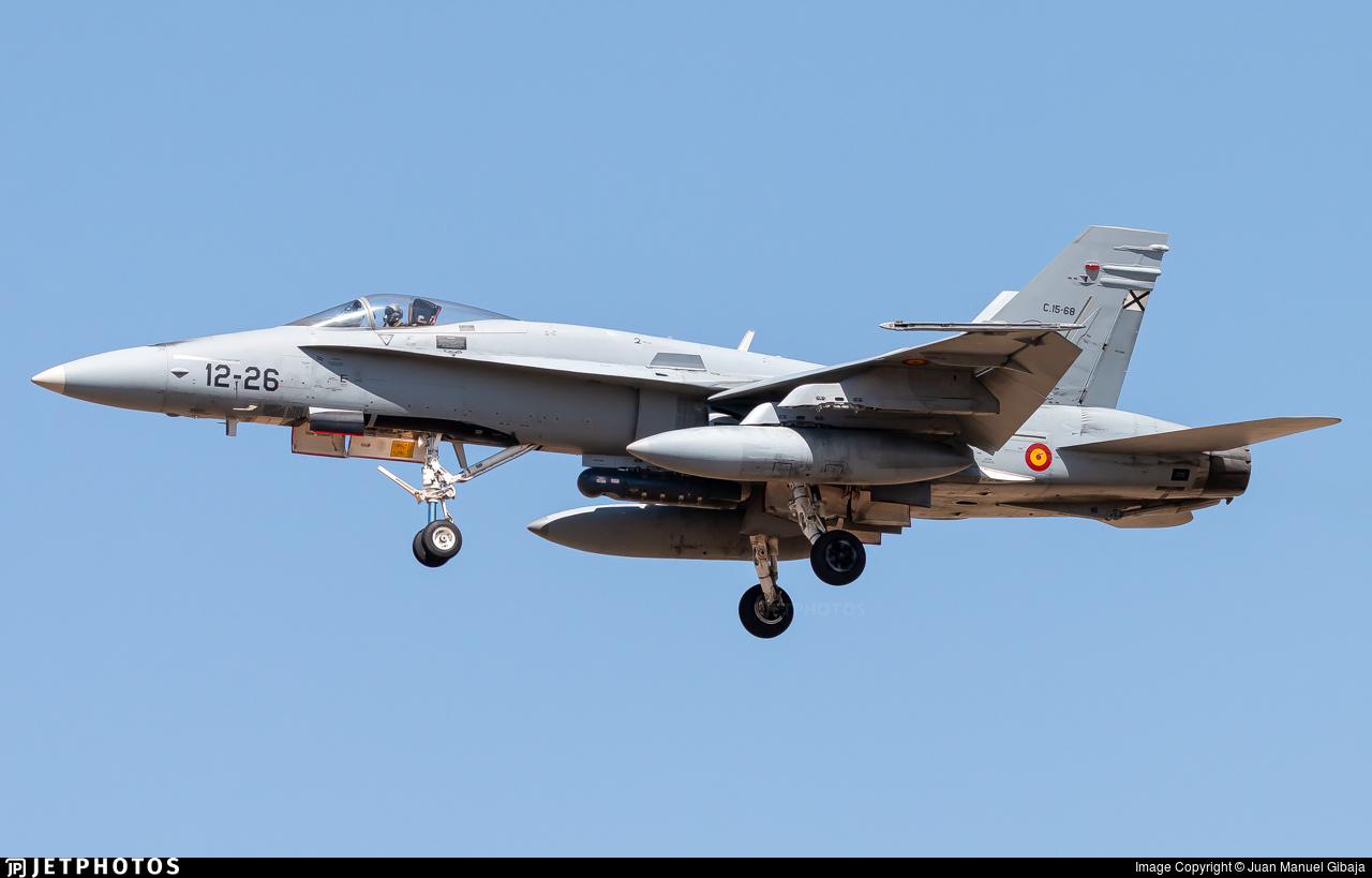 C.15-68 - McDonnell Douglas EF-18M Hornet - Spain - Air Force