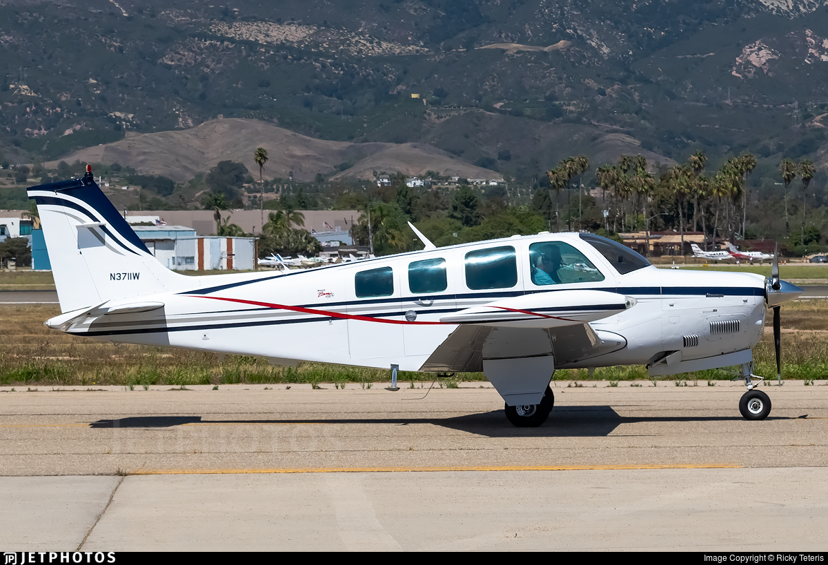 N3711W - Beechcraft A36 Bonanza - Private