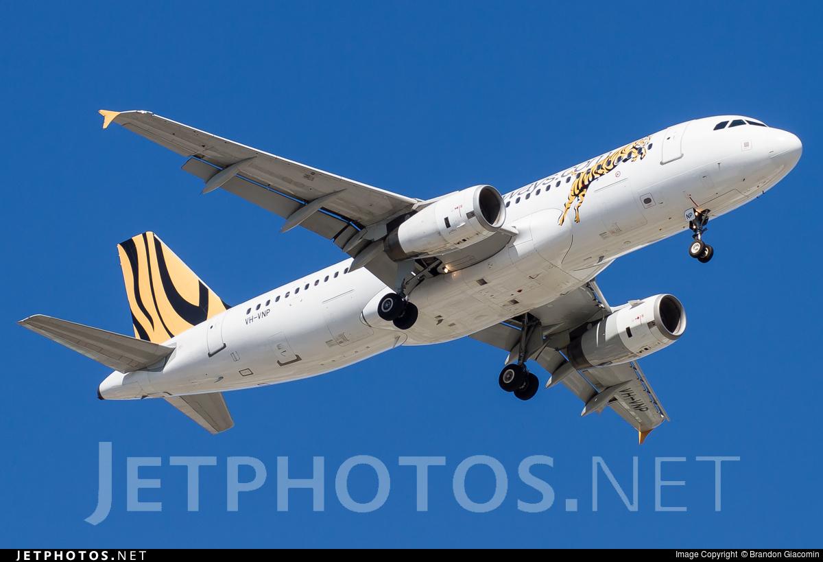 VH-VNP - Airbus A320-232 - Tiger Airways