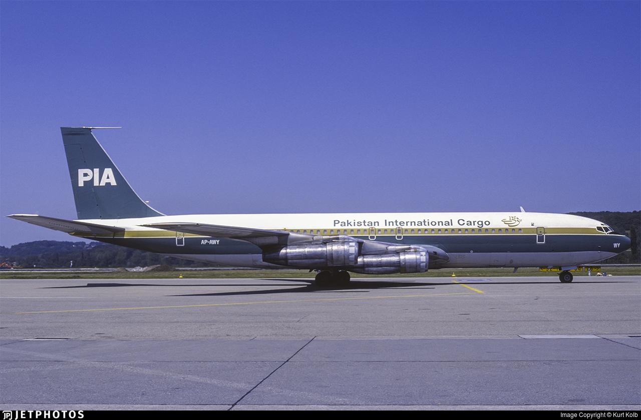 AP-AWY - Boeing 707-340C - Pakistan International Airlines (PIA)