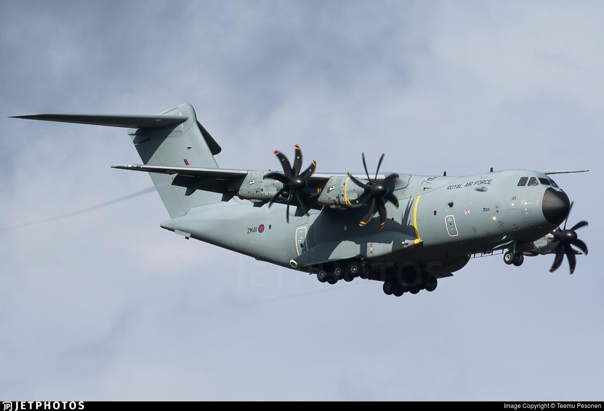 ZM411 - Airbus A400M Atlas C.1 - United Kingdom - Royal Air Force (RAF)