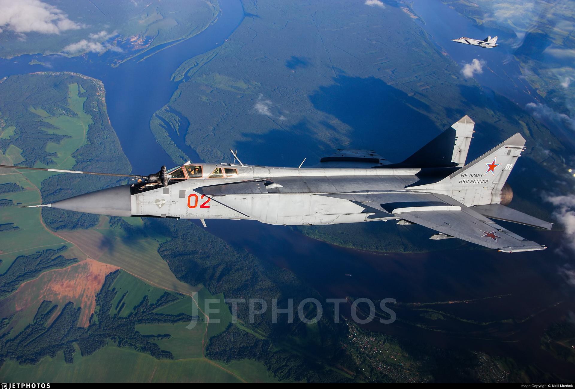 RF-92453 - Mikoyan-Gurevich MiG-31BM Foxhound - Russia - Air Force