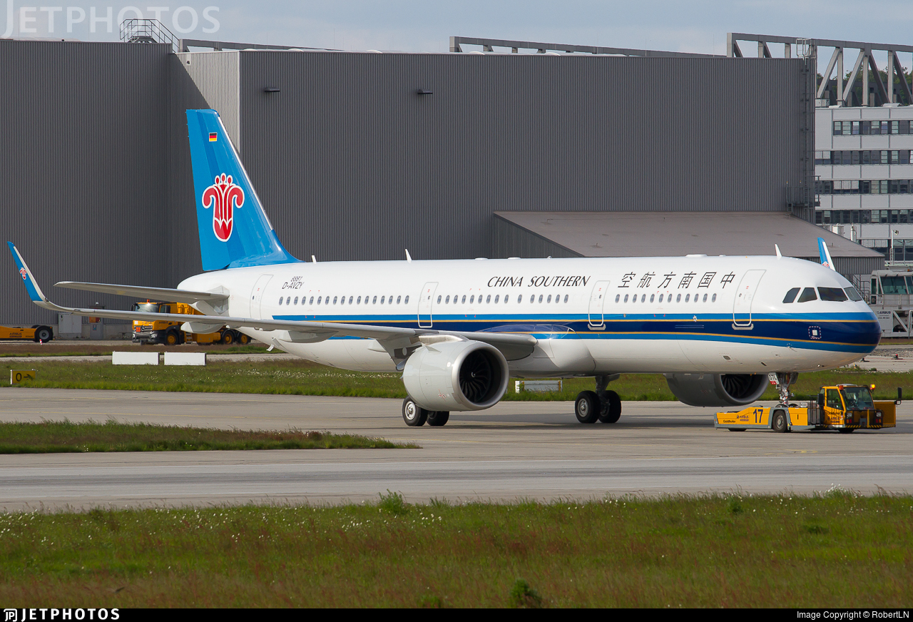D-AVZY - Airbus A321-253N - China Southern Airlines