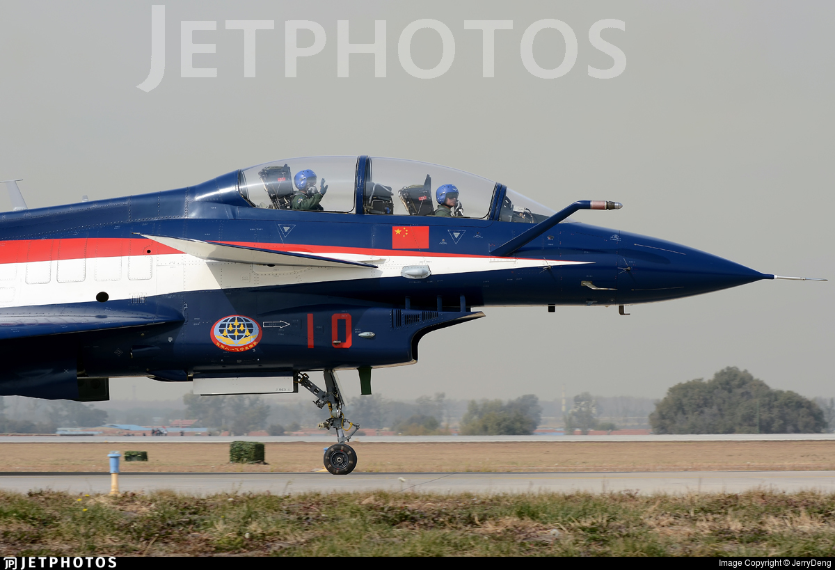 10 - Chengdu J10SY - China - Air Force