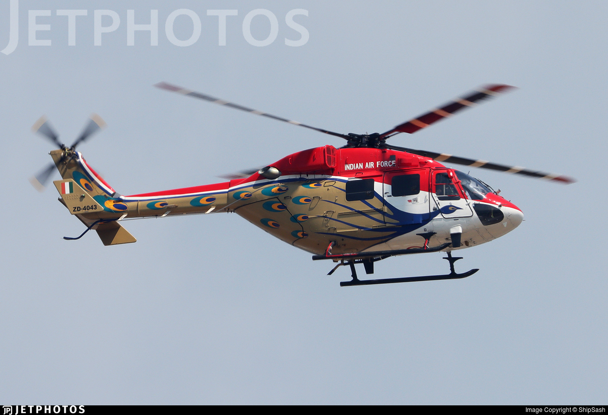 ZD-4043 - Hindustan Aeronautics ALH Dhruv - India - Air Force