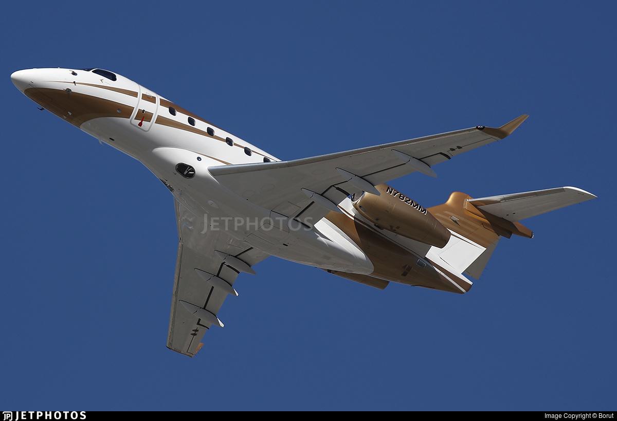 N782MM - Embraer EMB-550 Legacy 500 - Private