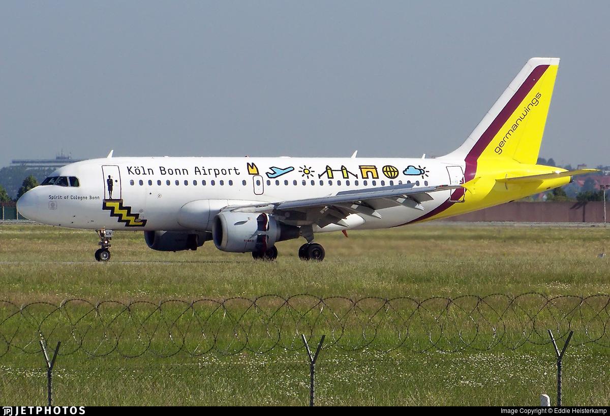 D-AILN - Airbus A319-114 - Germanwings