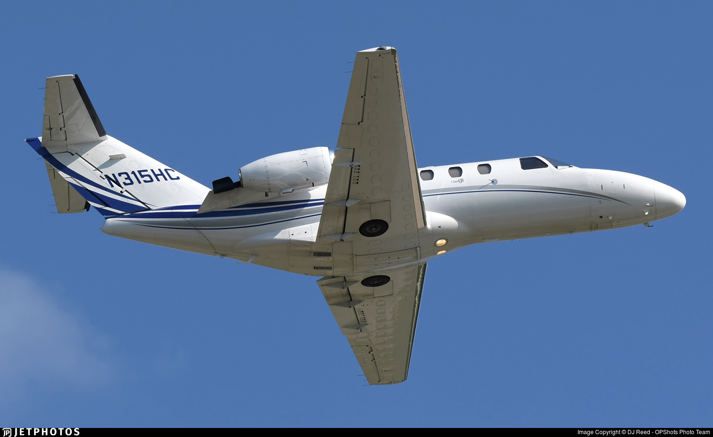 N315HC - Cessna 525 Citationjet CJ1 - Private