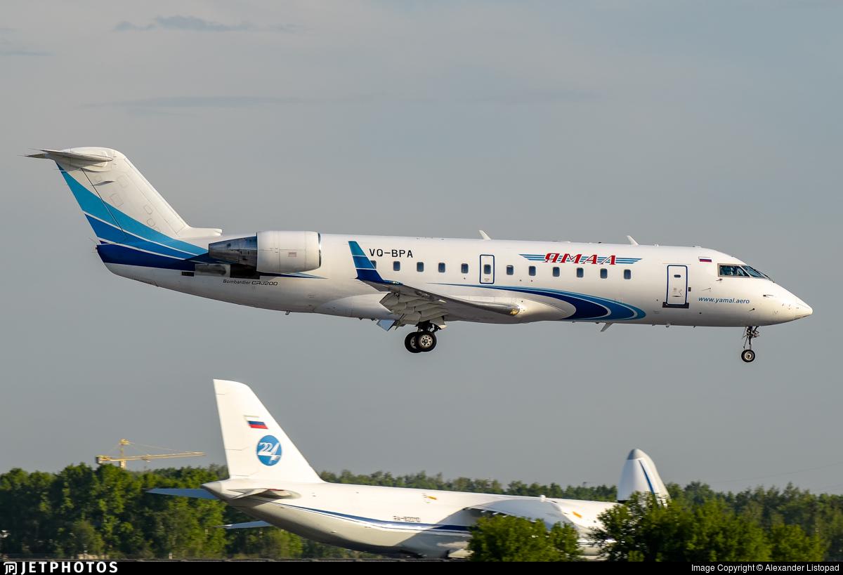 VQ-BPA - Bombardier CRJ-200LR - Yamal Airlines