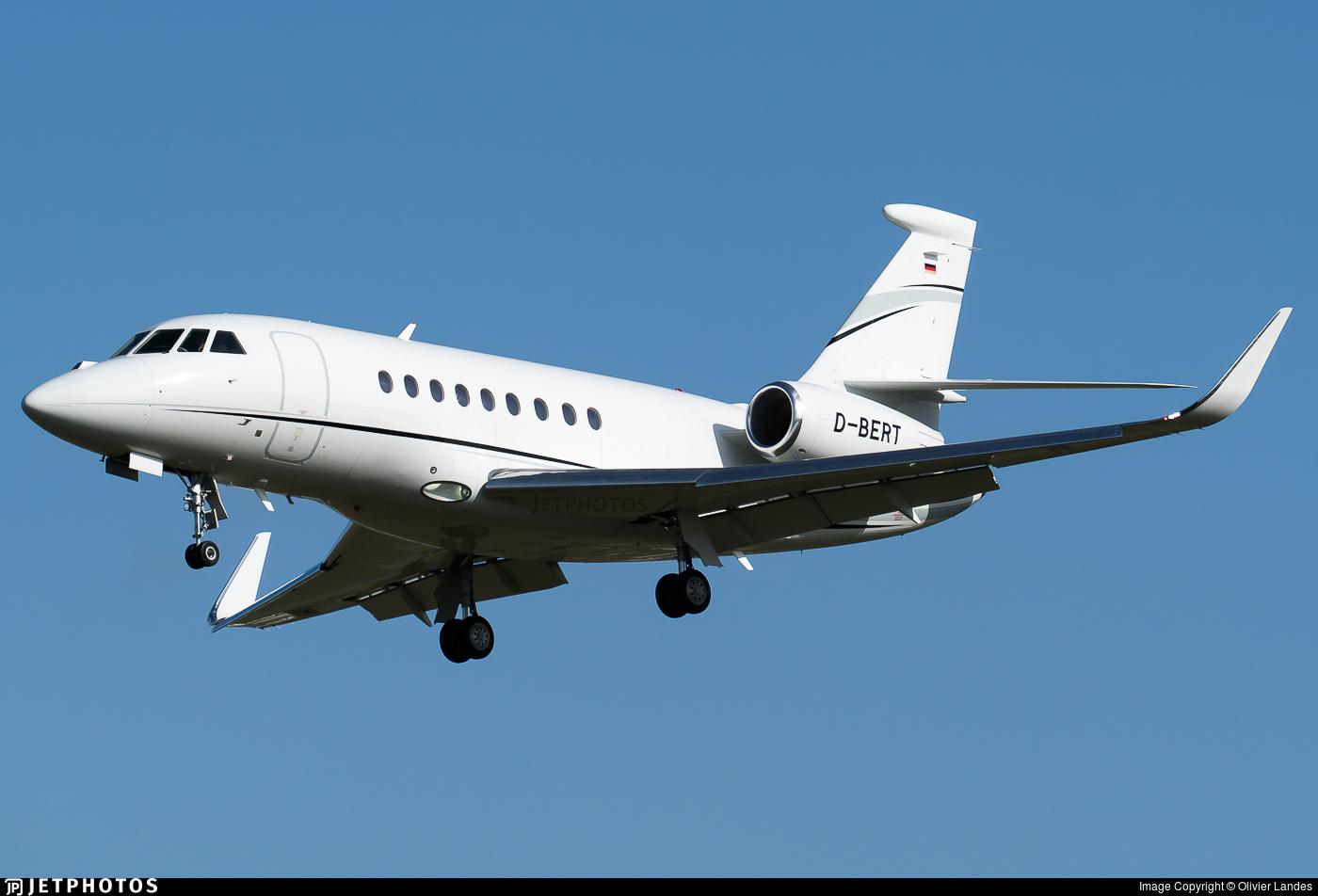 D-BERT - Dassault Falcon 2000LX - Private