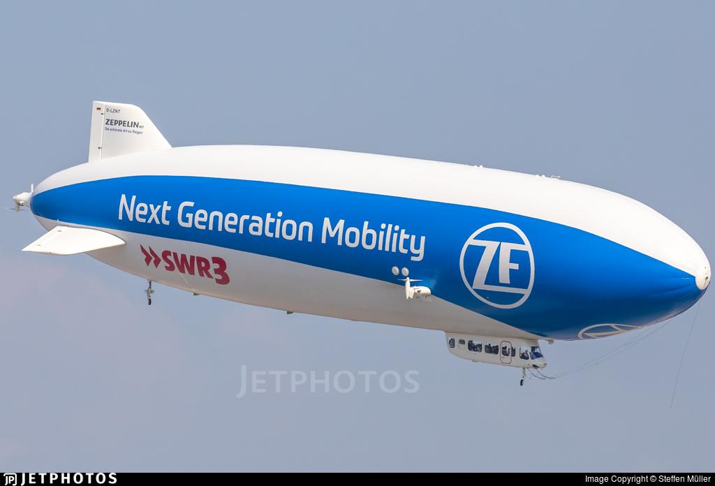 D-LZNT - Zeppelin NT N07 - Deutsche Zeppelin Reederei
