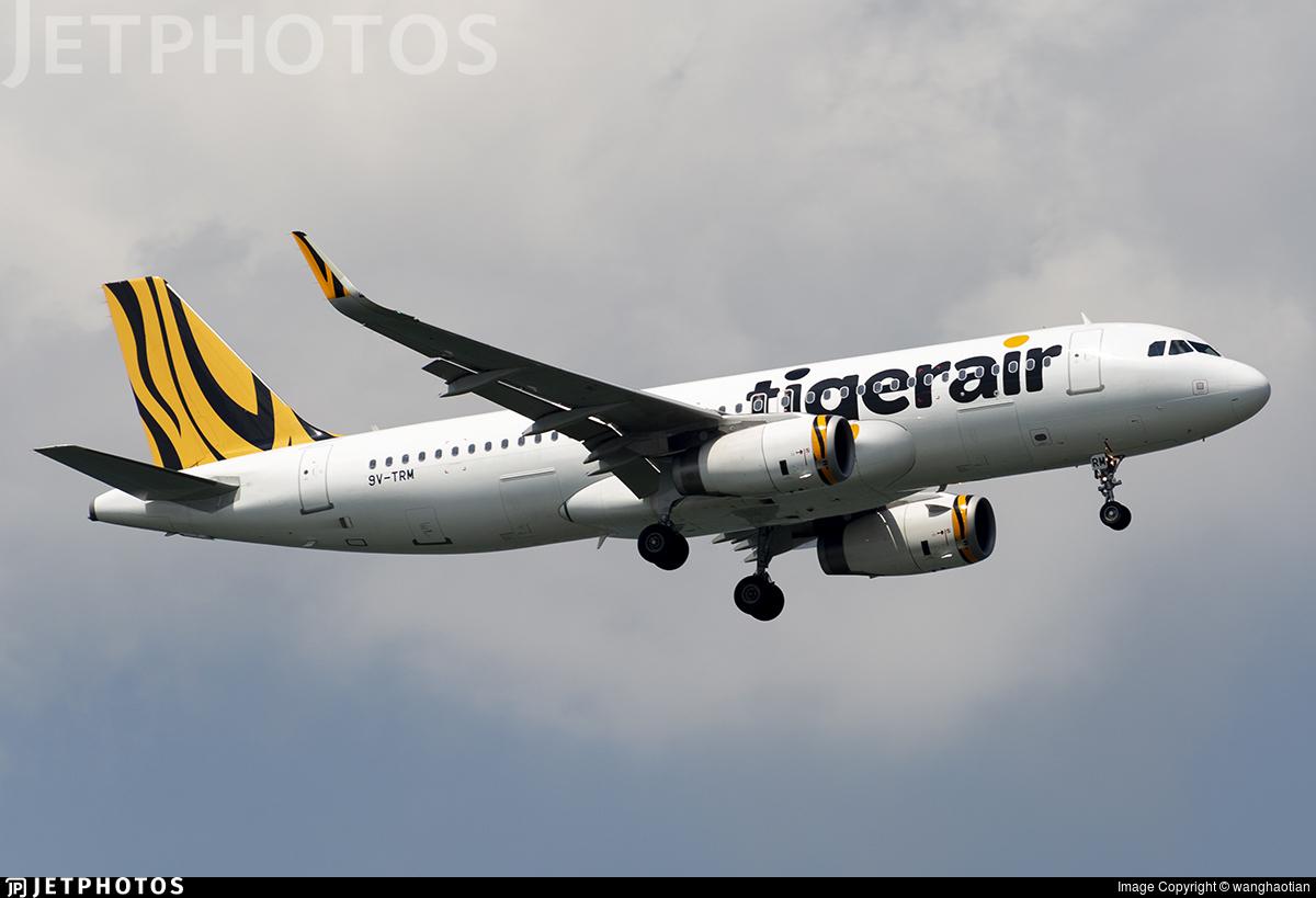 9V-TRM - Airbus A320-232 - Tigerair