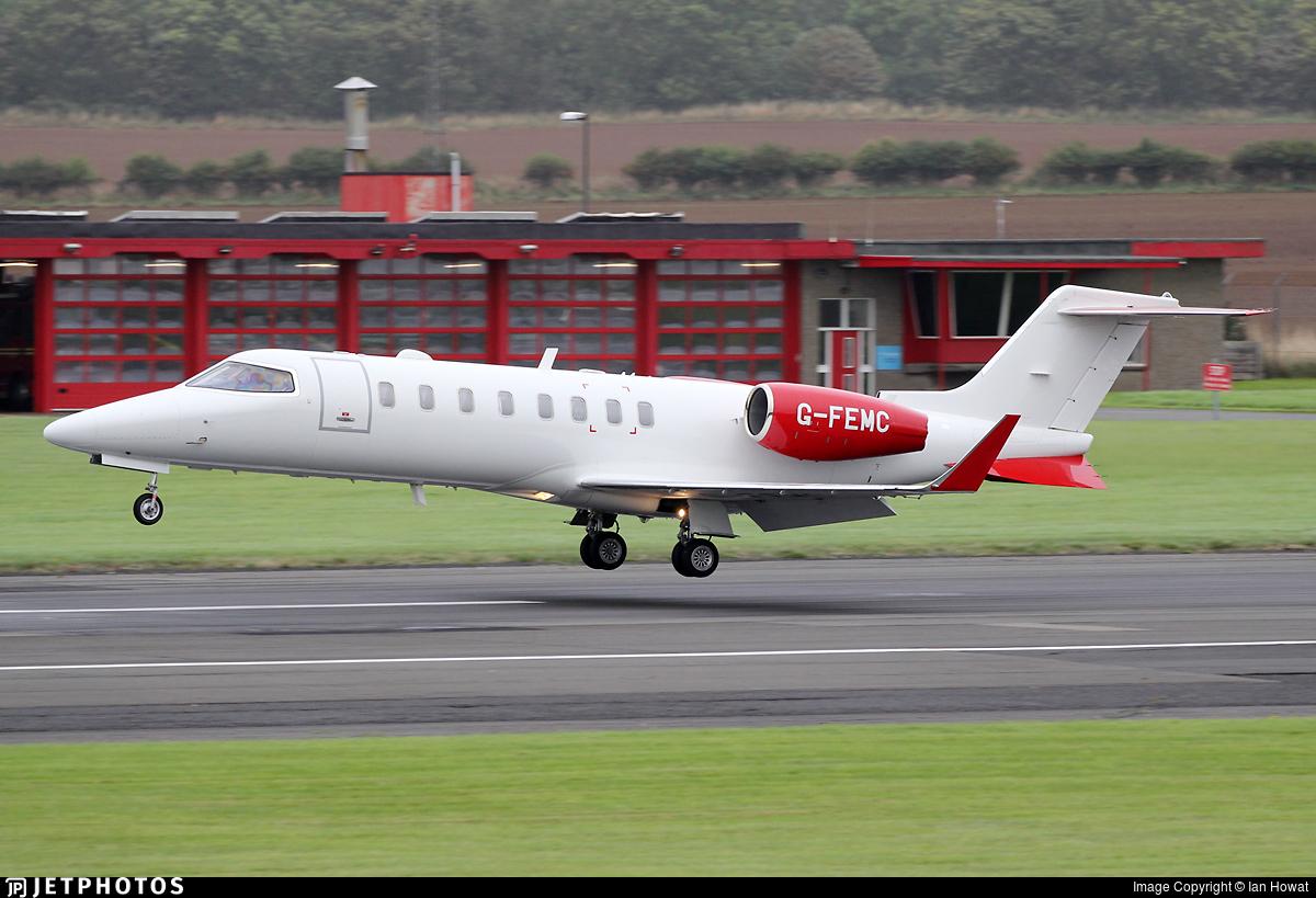 G-FEMC - Bombardier Learjet 45 - Zenith Aviation