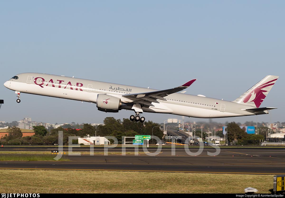 A7-ANN - Airbus A350-1041 - Qatar Airways