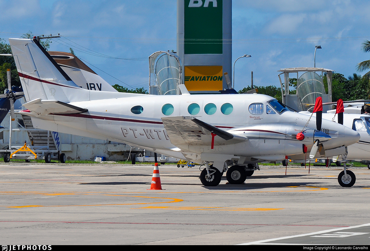 PT-WTN - Beechcraft C90 King Air - Private