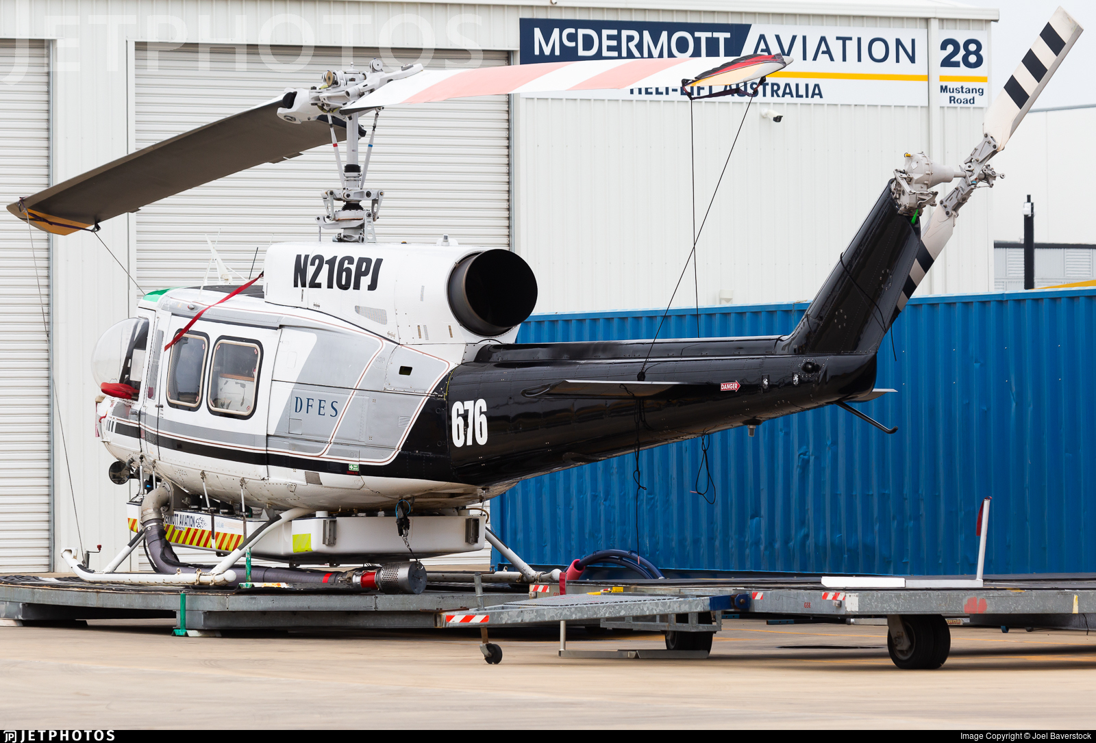 N216PJ - Bell 214B - McDermott Aviation