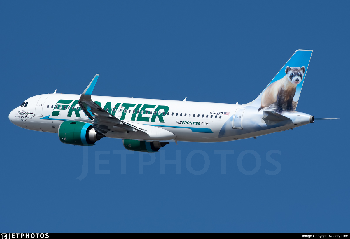 N362FR - Airbus A320-251N - Frontier Airlines