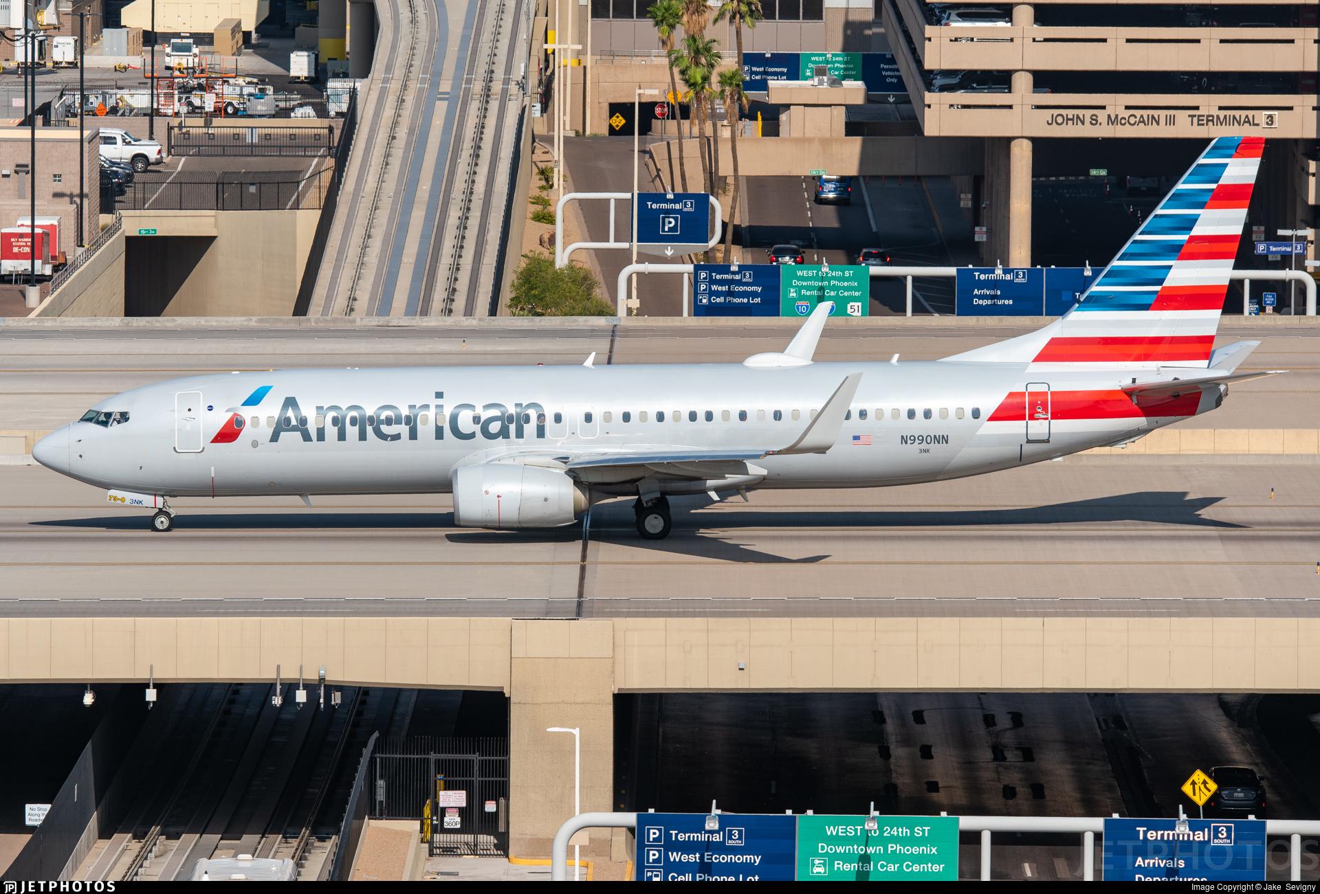 N990NN - Boeing 737-823 - American Airlines