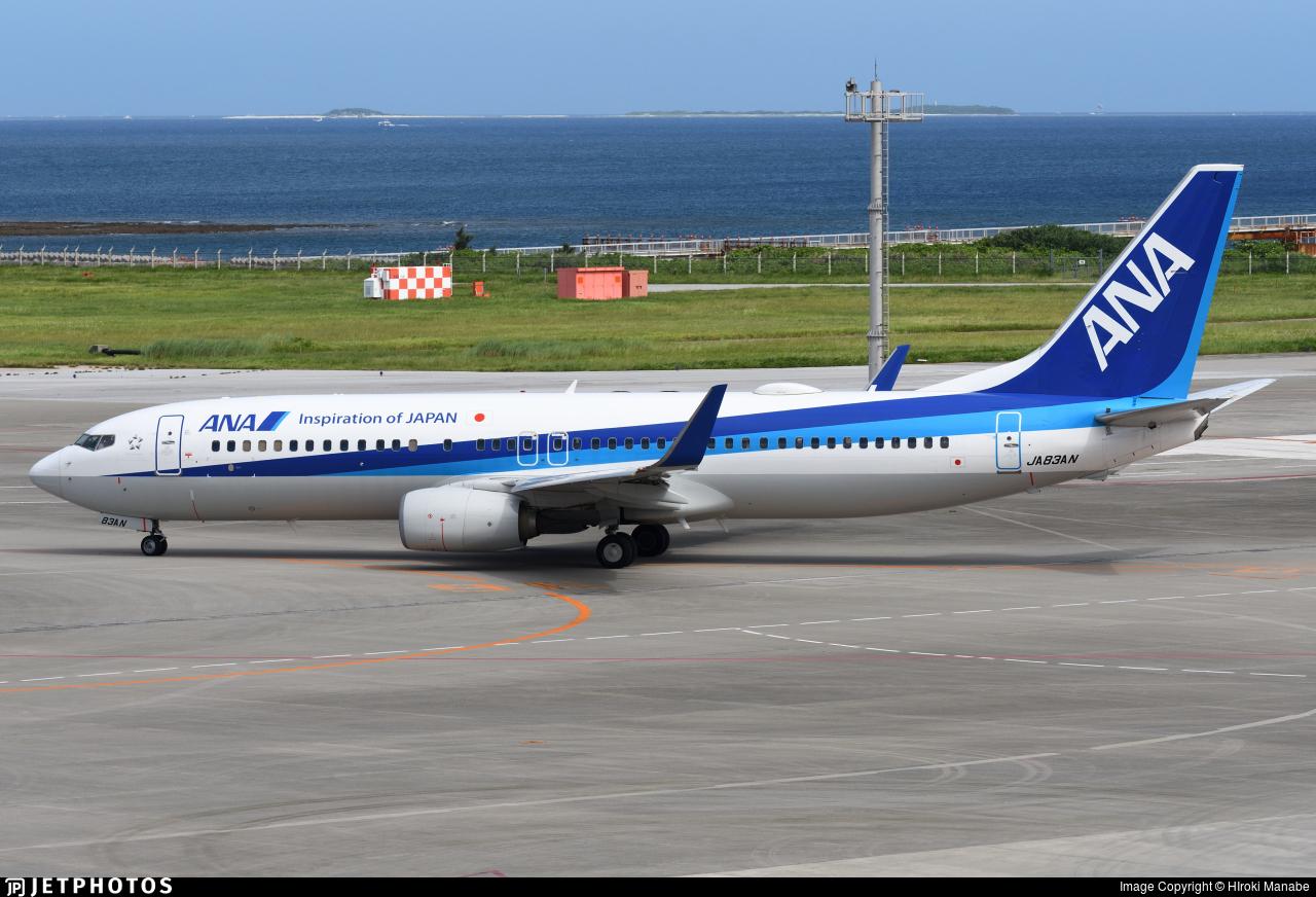 JA83AN - Boeing 737-881 - All Nippon Airways (ANA)