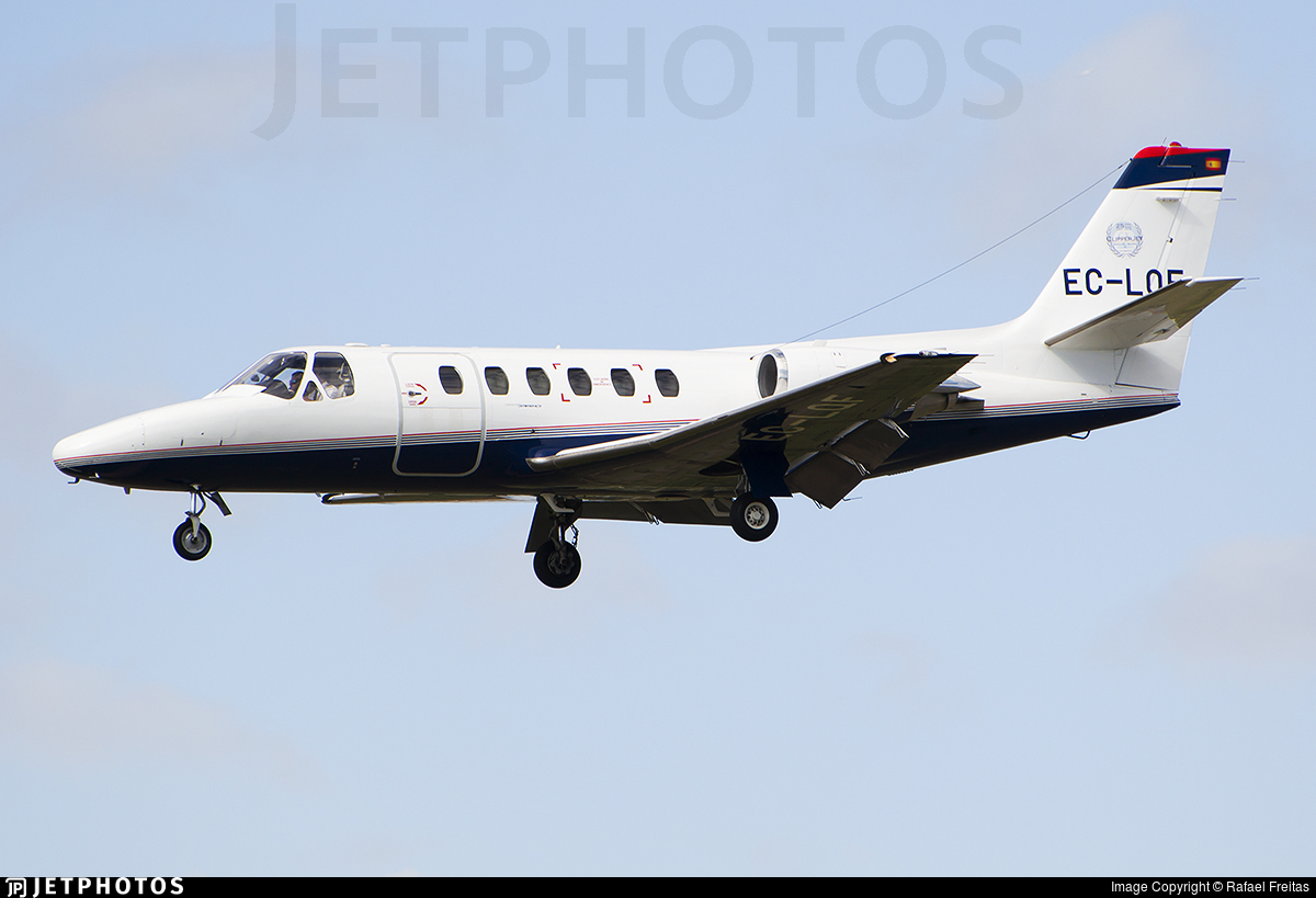 EC-LQF - Cessna S550 Citation SII - Private