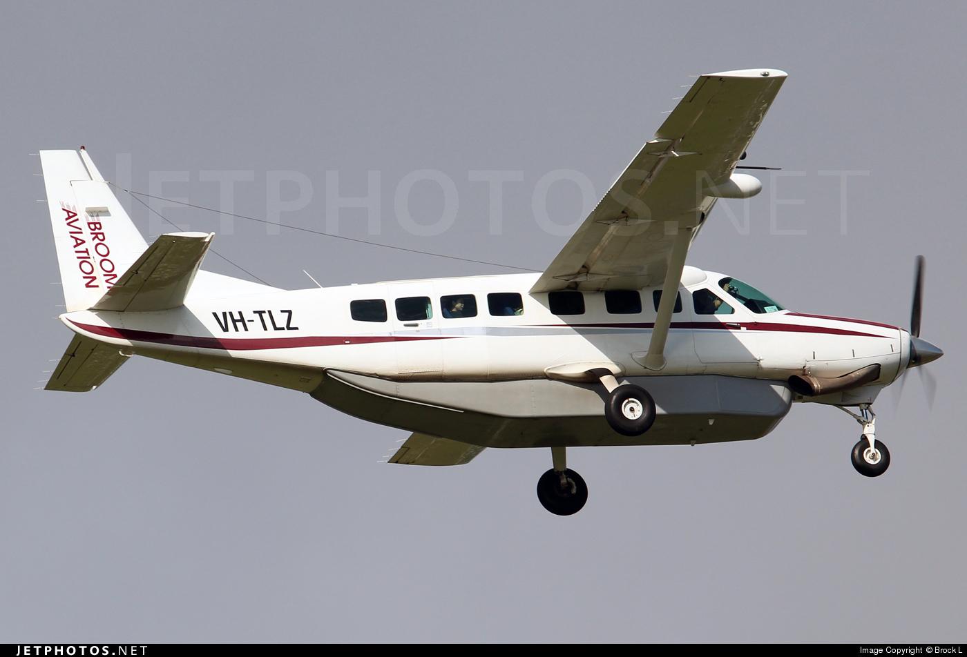 VH-TLZ - Cessna 208B Grand Caravan - Broome Aviation