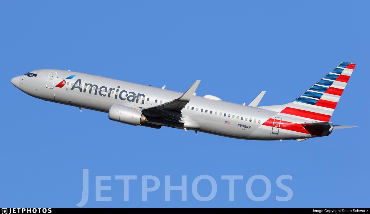N948NN - Boeing 737-823 - American Airlines