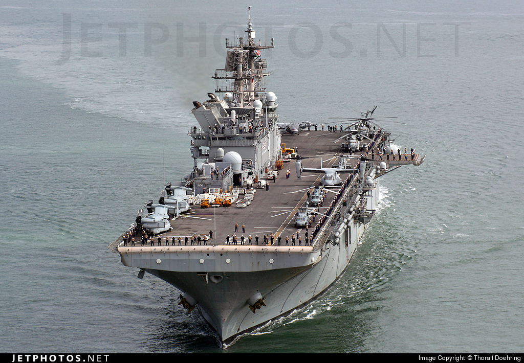 LHD-8 - Aircraft Carrier - United States - US Navy (USN)