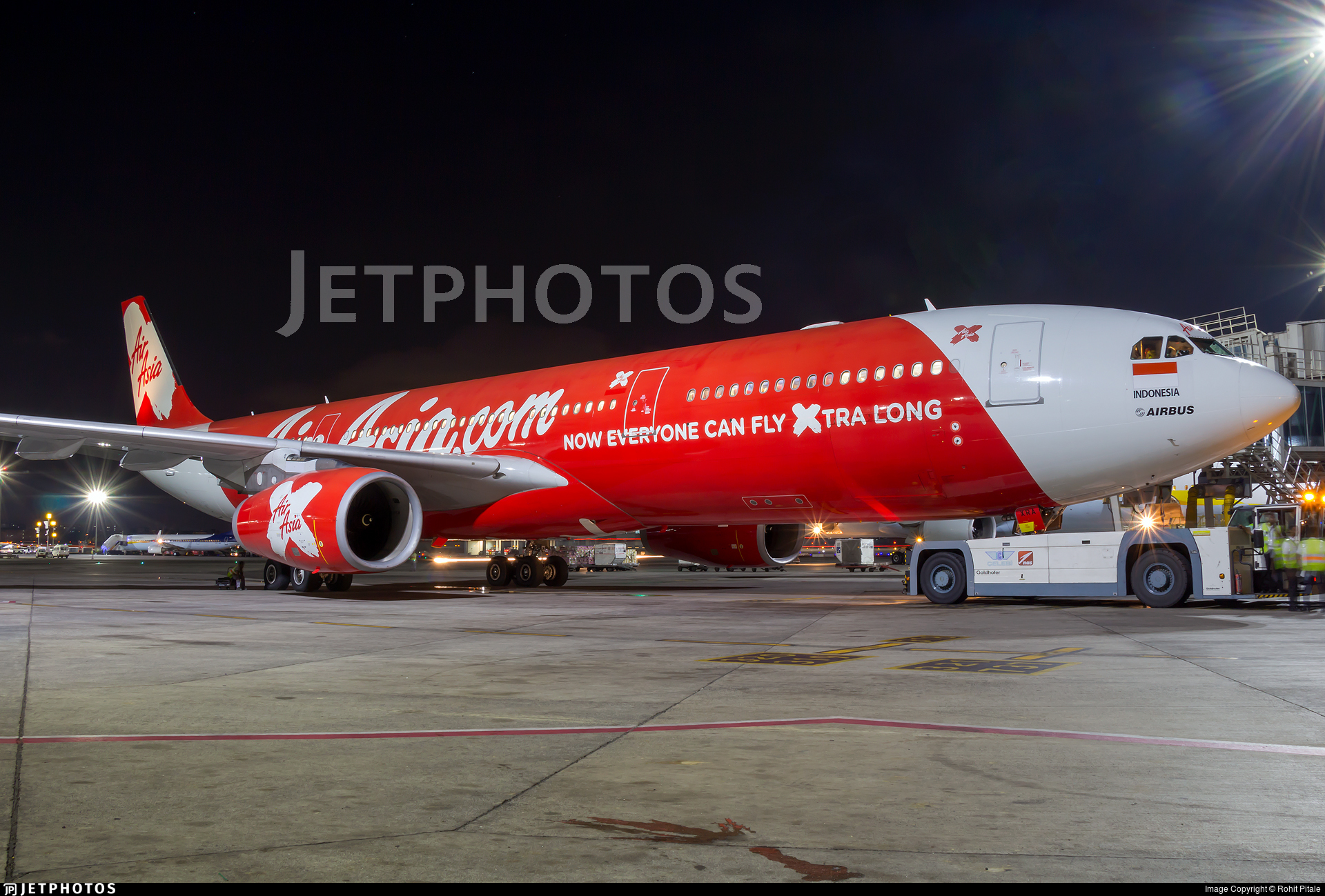 PK-XRA - Airbus A330-343 - Indonesia AirAsia X