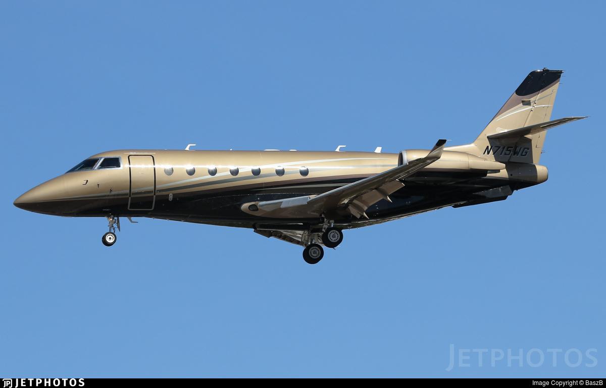 N715WG - Gulfstream G200 - Private
