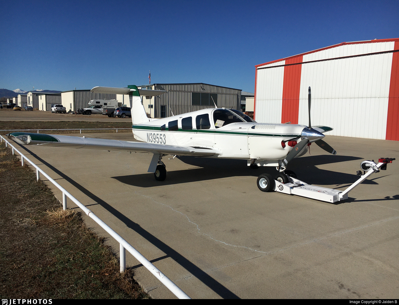 N39553 - Piper PA-32RT-300T Turbo Lance II - Private