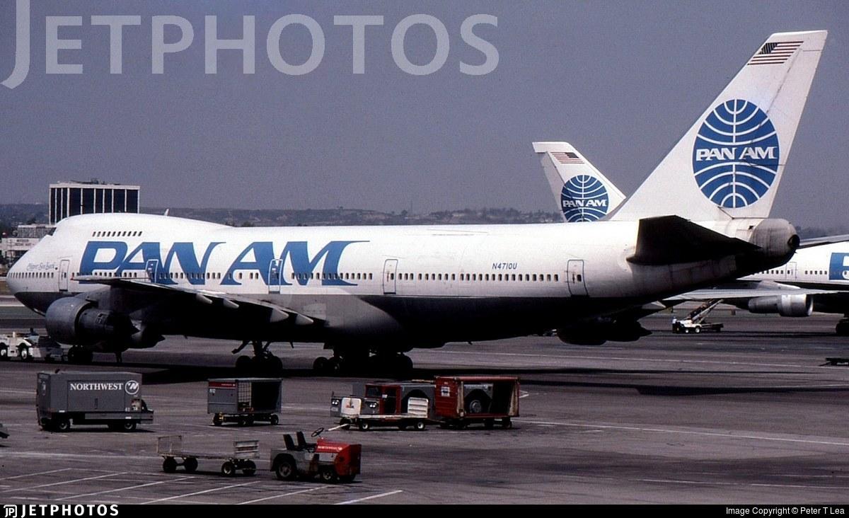 N4710U - Boeing 747-122 - Pan Am