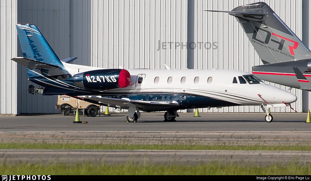 N247KG - Cessna 560XL Citation XLS+ - Private