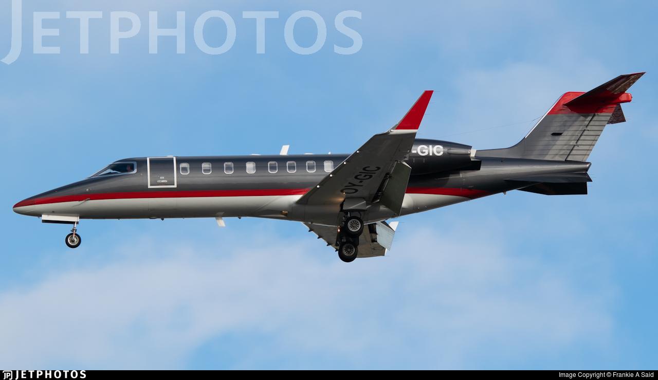 OY-GIC - Bombardier Learjet 45 - Flexflight