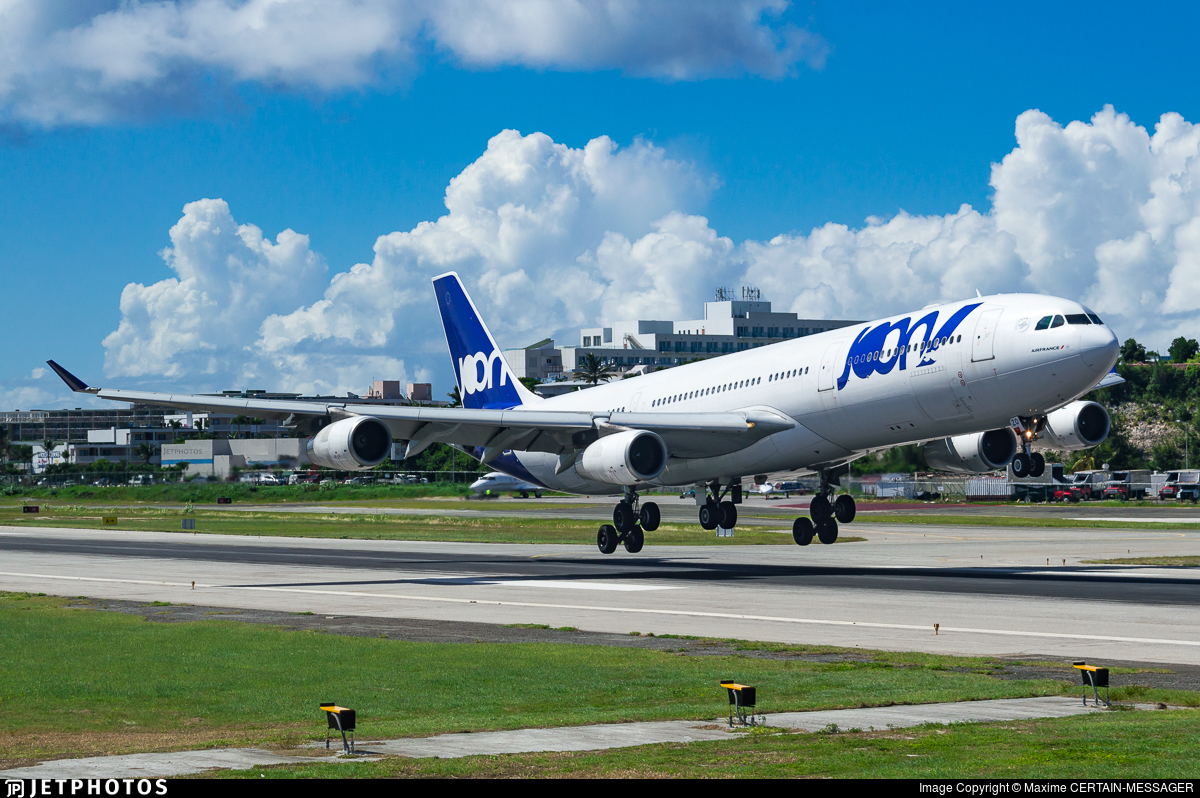 F-GLZO - Airbus A340-313X - Joon