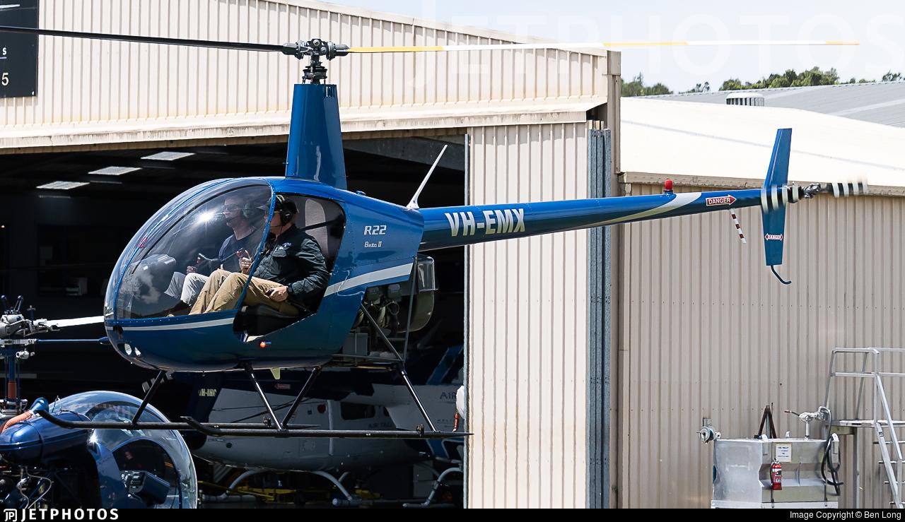 VH-EMX - Robinson R22 Beta II - Air T&G