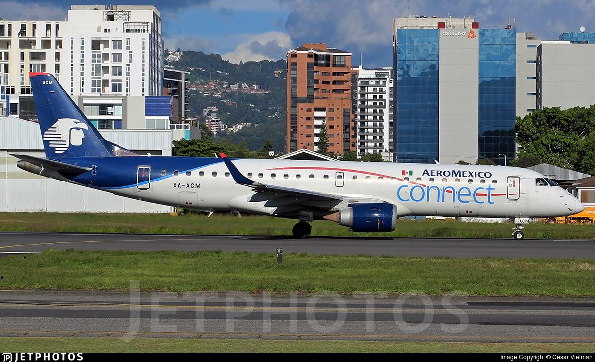 XA-ACM - Embraer 190-100LR - Aeromexico Connect