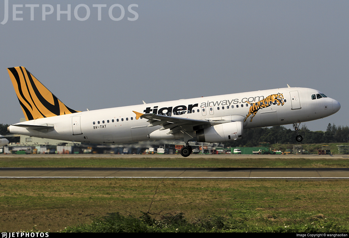 9V-TAT - Airbus A320-232 - Tiger Airways